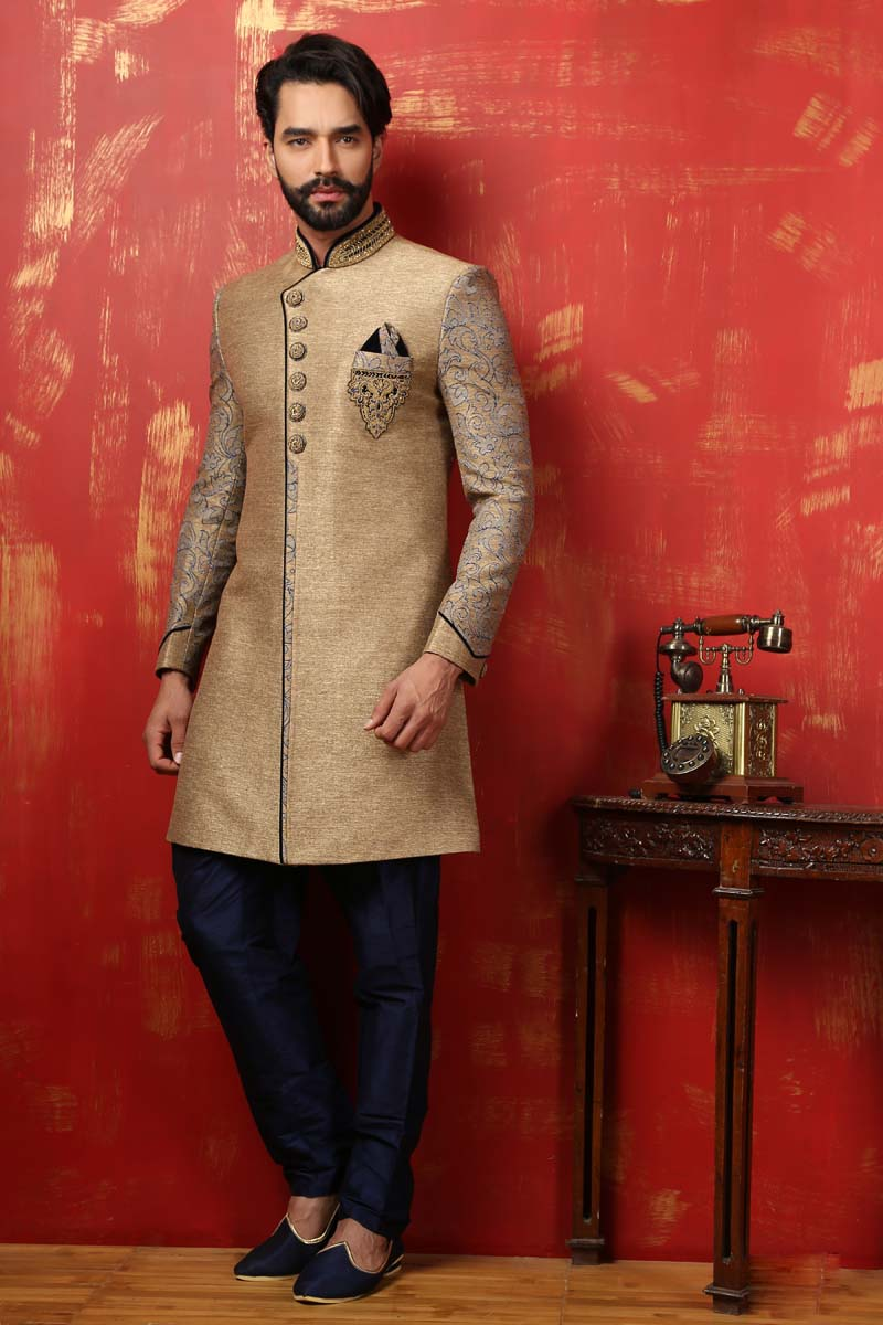 Indo Western Sherwani on Hire in Ahmedabad, Indo Western Suits on ...